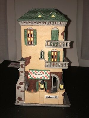 Department 56 Heritage Village Christmas In The City  Little Italy Ristorante