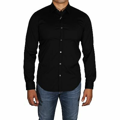 Lacoste Mens 2019 Classic Collar Long Sleeved Button Slim Fit Shirt 32/% OFF RRP