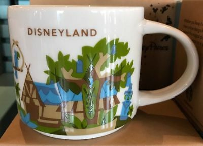 Disney Parks Disneyland You Are Here Starbucks Adventureland Mug 2018 - New