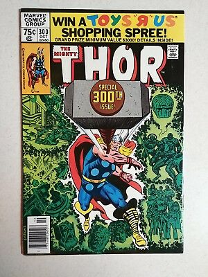 Thor #300 (Oct 1980) Destroyer appearance.