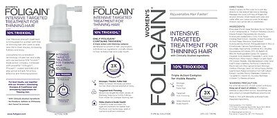 FOLIGAIN HAIR REGROWTH TREATMENT For Women (2oz) 59ml