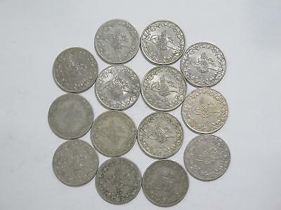 Egypt Ottoman Empire 5/10 Qirsh Mixed Date Cn Type World Coin Collection Lot #n