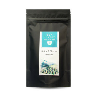 New Tea Lovers Detox & Cleanse Loose Leaf Tea 100g Herbal Infusion High Quality