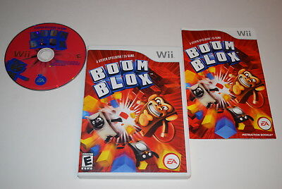 Boom Blox Nintendo Wii Video Game Complete