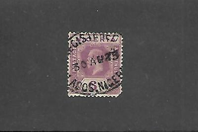 NIGERIA STAMPS #28a (USED) FROM 1921-33