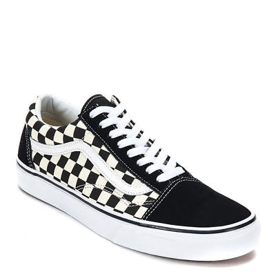 efee930a118 Vans PRIMARY CHECK Checkerboard Shoes Classic Canvas Suede Mens Old Skool