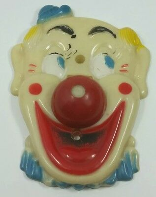 "Rare Htf ""Flicko"" Vintage Clown face Light Switch cover Culver City California"