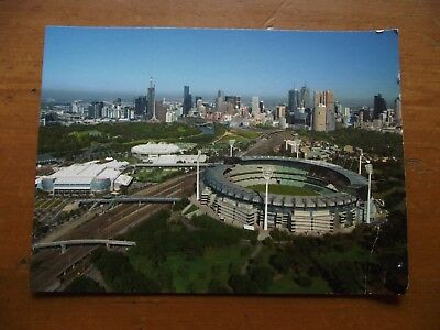 Postcard: Melbourne Cricket Ground / M.C.G & Melbourne Park Tennis Centre