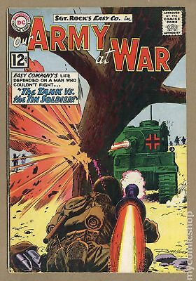 Our Army at War #118 1962 VG- 3.5