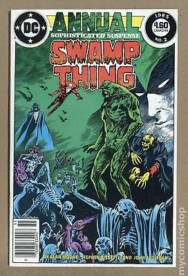 Swamp Thing (2nd Series) Annual #2 1985 FN/VF 7.0