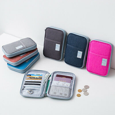 Travel Oxford Bag Wallet Document Organizer Money Card Case Zipper Pouch 4kinds