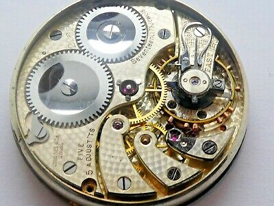 Longinus 18.79 pocket watch working Movement Caliber for parts  (K104)