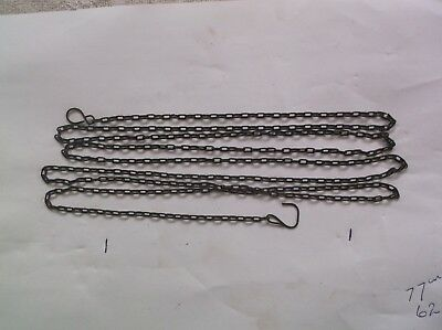 A Steel Chain From An Old Cuckoo Clock 62 Lincs To The Ft Ref 12