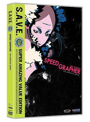 Speed Grapher Anime Complete Collection RC1 [4 DVDs]
