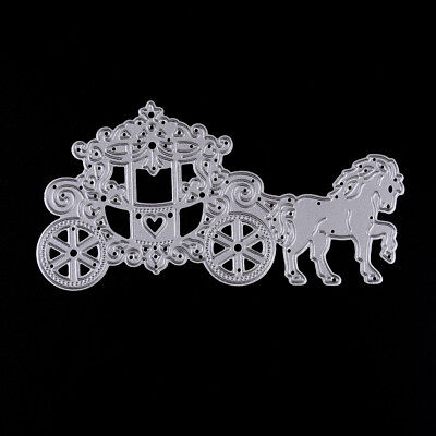 Carriage Metal Cutting Dies Stencil Scrapbook Paper Cards Craft Embossing_S