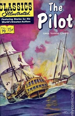 Classics Illustrated 070 The Pilot #5 1964 VG Stock Image Low Grade