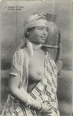 Mauresque arabe seins nus / nude arab Moorish Woman