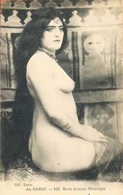 Femme Arabe Mauresque nue / nude arab Moorish Woman