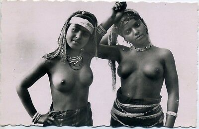 Mauresques  arabes seins nus RARE / nude arab Moorish Women