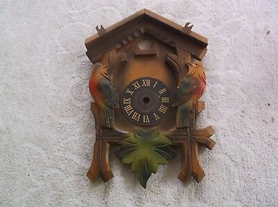 A Cuckoo Clock Wood Front Part. Ref Vtp 2