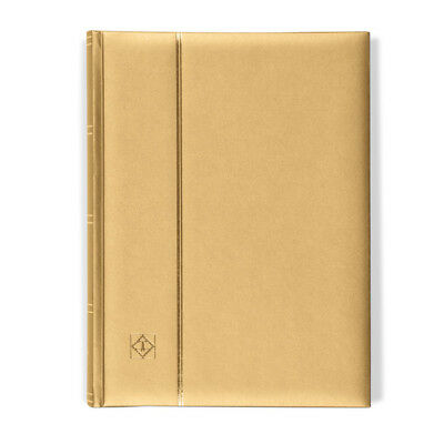 Lighthouse A4 COMFORT Stockbook 64 Page Padded METALLIC EDITION Cover - GOLD