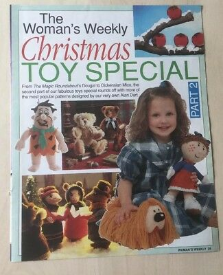 Alan Dart Christmas Toy Special Part 2 knitting pattern