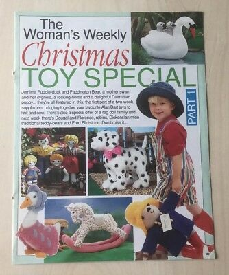 ALAN DART ( The Womans Weekly Christmas Toy Special Part 1 ) Knitting Pattern