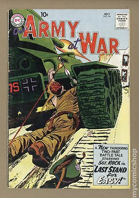 Our Army at War #96 1960 GD+ 2.5