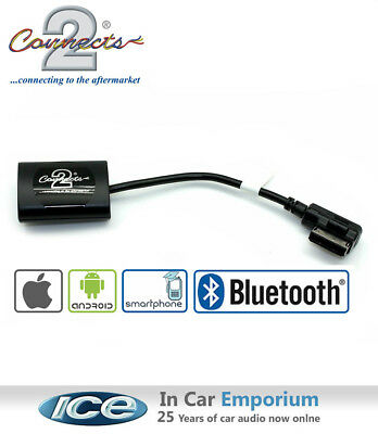 Audi RS3 Bluetooth Music Streaming stereo adaptor, iPod iPhone Android