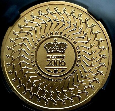 Australia  2006  CHOICE UNCIRCULATED  $5 Coin. Commonwealth Nations Games