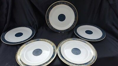 """ROYAL DOULTON  Carlyle  10.75"""" DINNER PLATES X 5"""