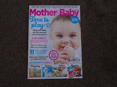Mother & Baby Magazine-April Edition-New & In Excellent Condition