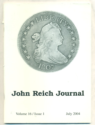 John Reich Journal, Vol 16, issue 1, July 2004 - Back Cover is Missing