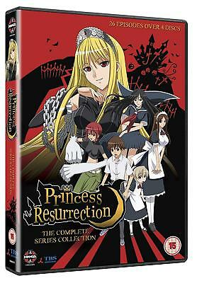 Princess Resurrection Anime Complete Collection RC2 UK [4 DVDs]