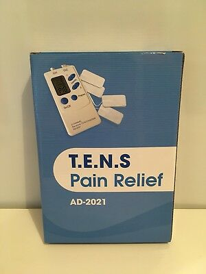 Brand New Tens Pain Relief Machine Boxed