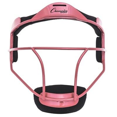Champion Sports Softball Erwachsene Pitcher/Spieler Maske, Wide Vision, Pink