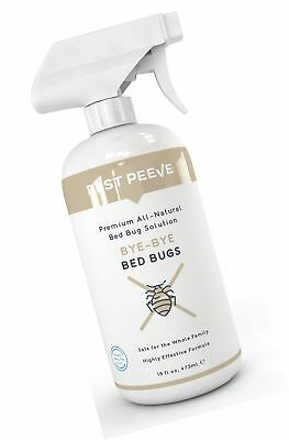 Say Bye Bye Anti Bed Bug Best Safe Eco Heavy Duty Spray Repellent 1 Bottle 16oz