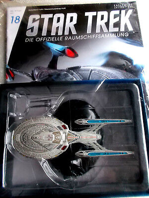 STAR TREK Shuttle TYPE-11 USS Enterprise 1701-E NEW Raumschiffsammlung Eaglemoss