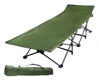Camping Cots for Adults, Easy and Portable Folding Cot Bed with Carry Bag HOT US