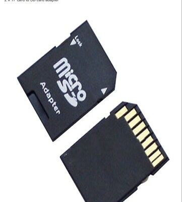 Micro SD TransFlash TF To SD SDHC Memory Card Adapter Converter Into SD Card