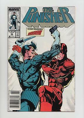 The Punisher #10 Daredevil Cover, Appearance (Marvel 1988) NM- 9.2