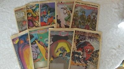 COMIC SHOP NEWS 1990 ~ 9 issues Great Condition Real Rare Find