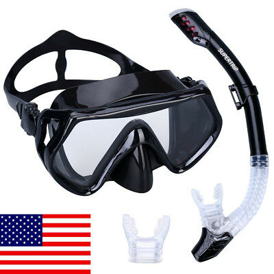 Anti-Fog Scuba Diving Mask for Adults, Kids fit any face shape Snorkeling Mask