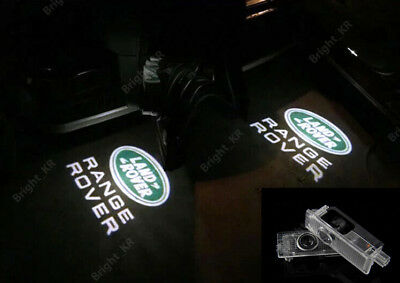 Range Rover Cree Laser Courtesy Door Puddle Logo Light Led Projector Kit