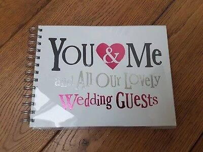 Wedding Guest Book - The Bright Side, You & Me & All Our Lovely Wedding Guests