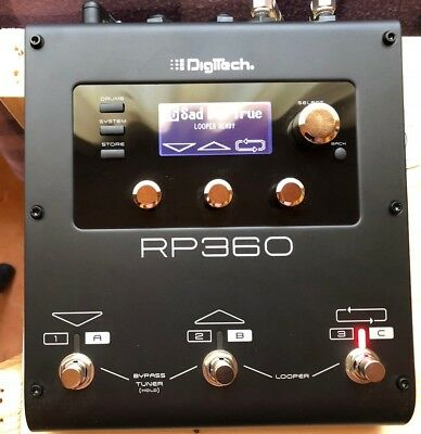 DigiTech - RP360 Multieffekt, Drum Computer, Looper