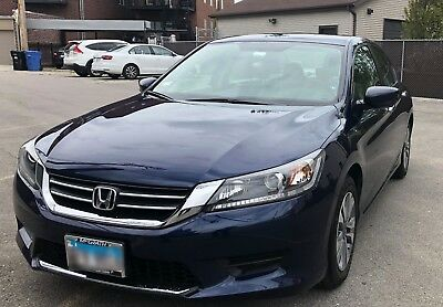 2015 Honda Accord LX 4dr I4 CVT LX sedan CVT Gasoline 2.4L 4 Cyl Blue