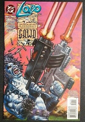 DC Lobo A Contract On Gawd #1 (April 1994)