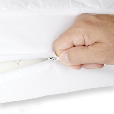 Safety Baby Zipper Crib Cover & Protector | Fully Encased
