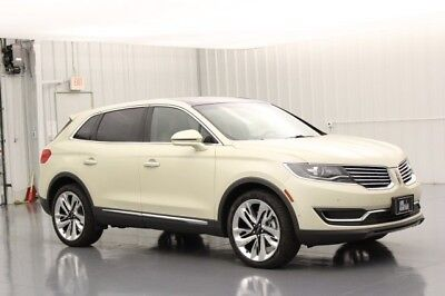 Lincoln MKX RESERVE 2.7 V6 TURBOCHARGED 6 SPEED AUTOMATIC AWD SUV MICRO PERFORATED HEATED COOLED LEATHER SEATING 21 INCH POLISHED ALUMINUM WHEELS